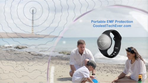 EMF Protected Family by CoolestTechEver.com